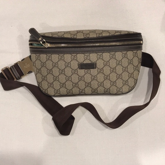 d5909740217151 Gucci Bags | Like New Belt Bag Brown Ssima | Poshmark